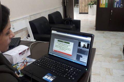 گزارش تصویری | برگزاری دوره آنلاین