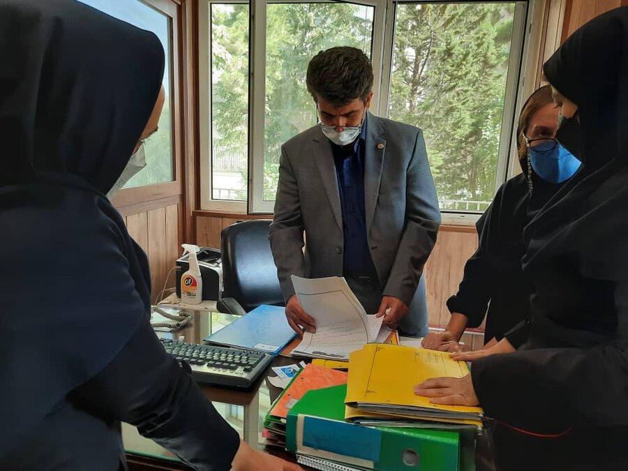 شمیرانات| مدیر بهزیستی شهرستان از مرکز ارشاد بازدید کرد