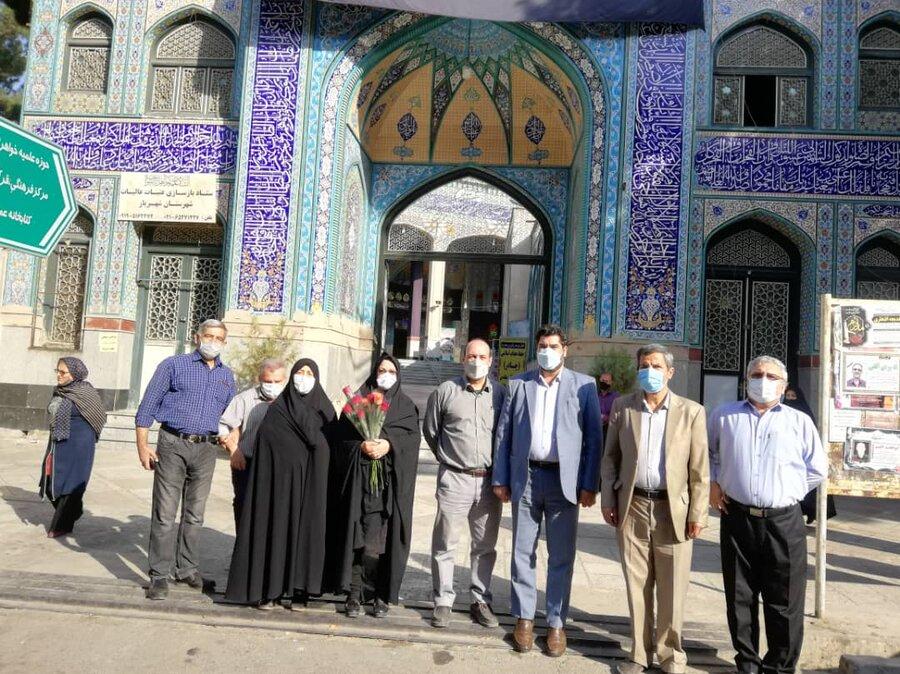 شهریار  گلباران مزار شهیدان
