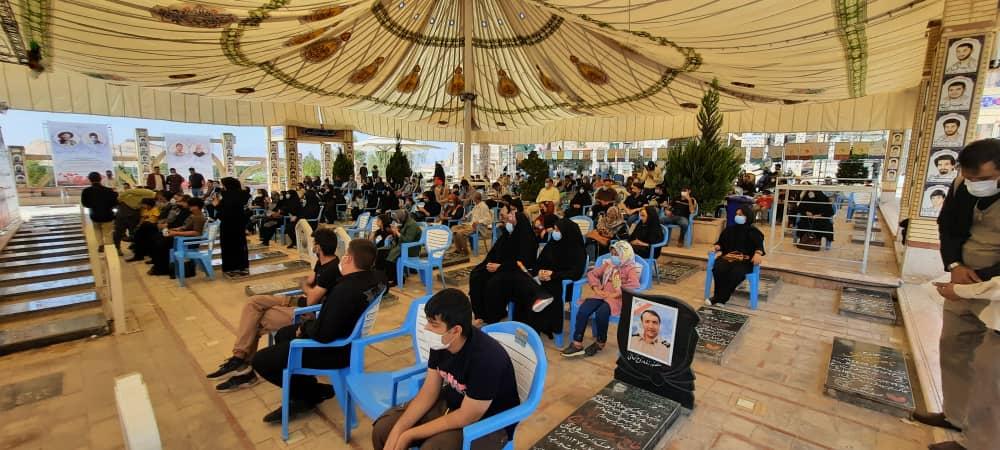 تجدید بیعت نابینایان استان کرمان با آرمانهای شهدای  دفاع مقدس