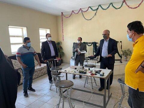 گزارش تصویری | سفر یک روزه مدیرکل به شهرستان گرمسار