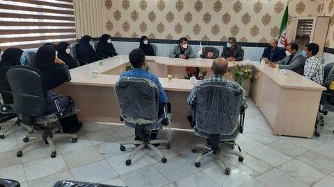 سفر یک روزه مدیرکل بهزیستی خراسان رضوی به شهرستان فیروزه