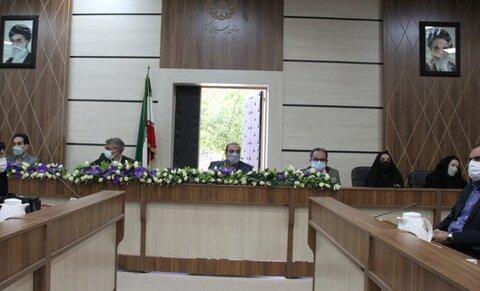 نشست مدیرکل ،معاونین و مسئولان اداره کل بهزیستی فارس با روسای ادارات بهزیستی سراسر استان برگزار شد