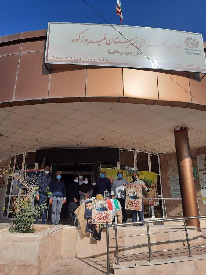 فیروزکوه  برگزاری پیاده روی صبحگاهی کارکنان بهزیستی