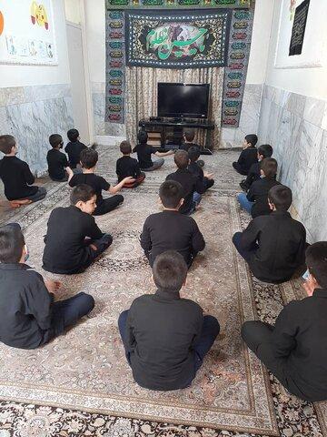 گزارش تصویری   برگزاری مراسم اربعین در خانه کودکان و نوجوانان