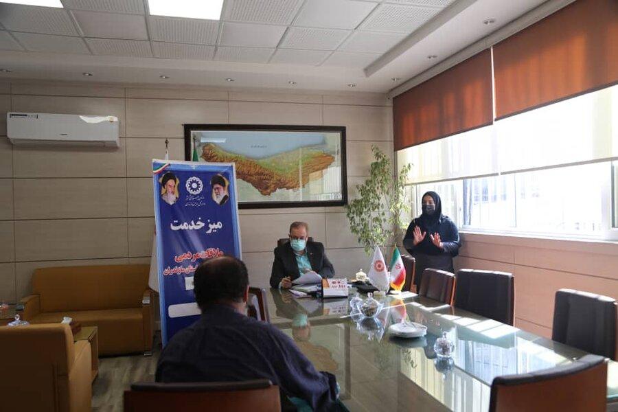 ملاقات مردمی مدیرکل بهزیستی مازندران با حضور رابط ناشنوایان برگزار شد