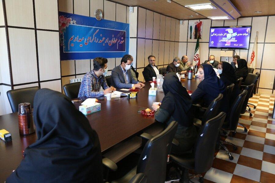تعیین بازرس و سمت های هیئت مدیره کانون مراکز خدمات بهزیستی (مثبت زندگی) کردستان