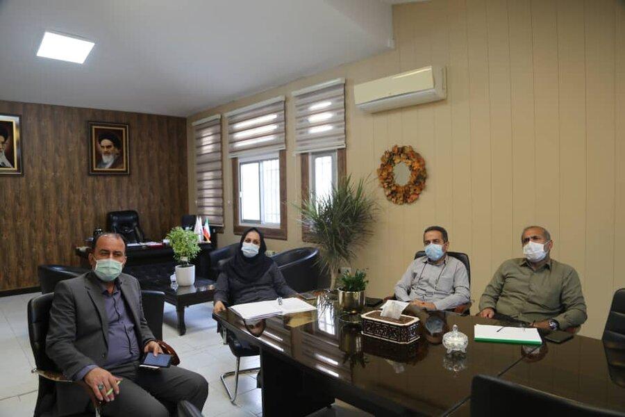 جلسه بررسی نتایج مرحله اول طرح پژوهشی تهیه و تدوین نقشه آسیب های اجتماعی استان مازندران برگزار شد