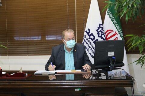 حضور مدیرکل بهزیستی استان مازندران در مرکز سامانه سامد