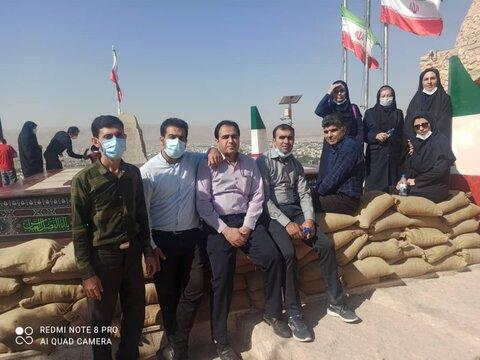 گزارش تصویری | کوه پیمایی کارکنان بهزیستی فارس و شیراز به مناسبت هفته دفاع مقدس