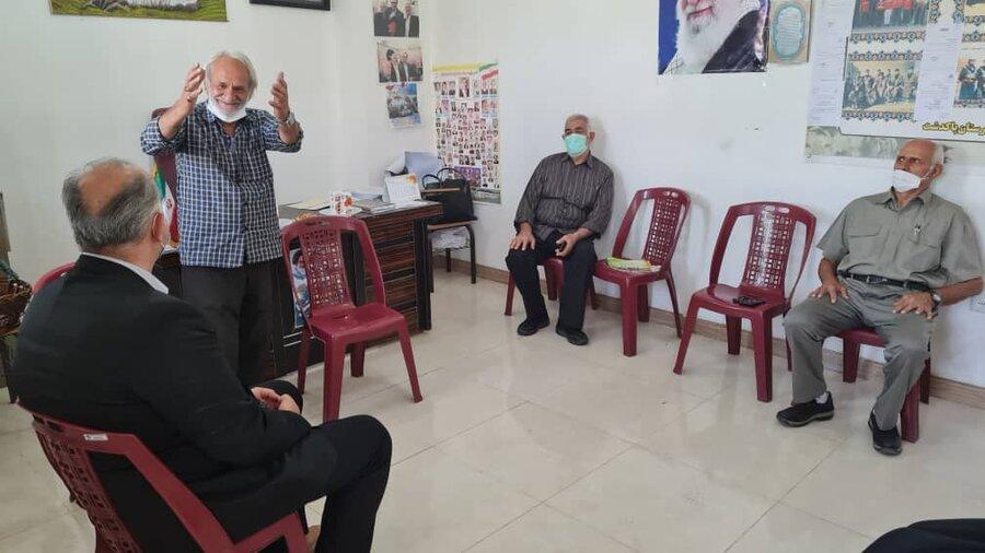 پاکدشت| دیدار روسای بهزیستی و انجمن بازنشستگان شهرستان