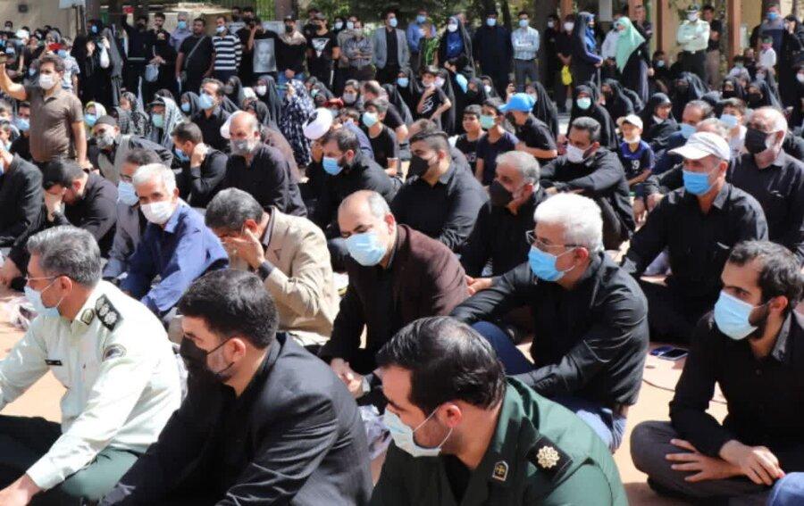 رباط کریم  حضور رئیس بهزیستی در همایش پیاده روی اربعین حسینی