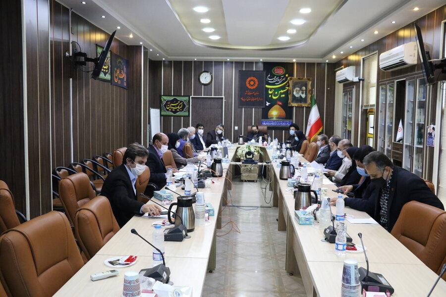 برگزاری چهارمین نشست کمیته تخصصی ماده ۱۶ در بهزیستی گیلان