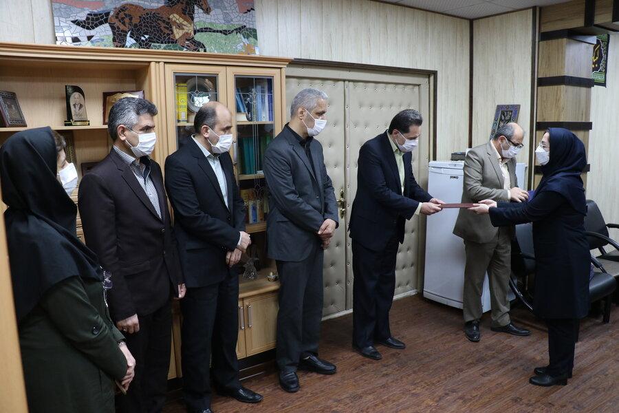 تقدیر از مدافعان سلامت مراکز شبانه روزی بهزیستی گیلان  در هفته دفاع مقدس