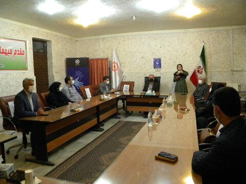 مراسم روز جهانی  ناشنوایان در بهزیستی استان اردبیل