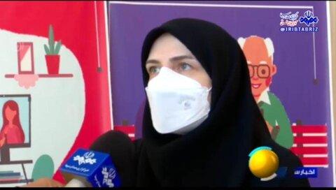 گزارش خبری صدا و سیما از جمعیت سالمندی آذربایجان شرقی