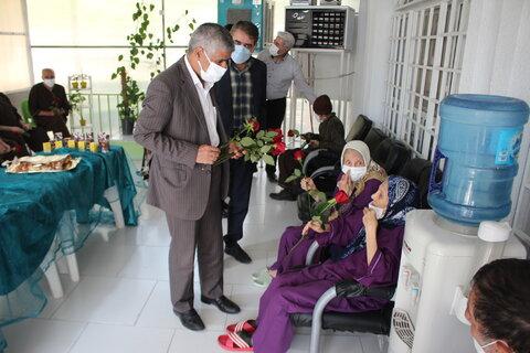 گزارش تصویری   تکریم مقام و منزلت سالمند در روز جهانی سالمندان