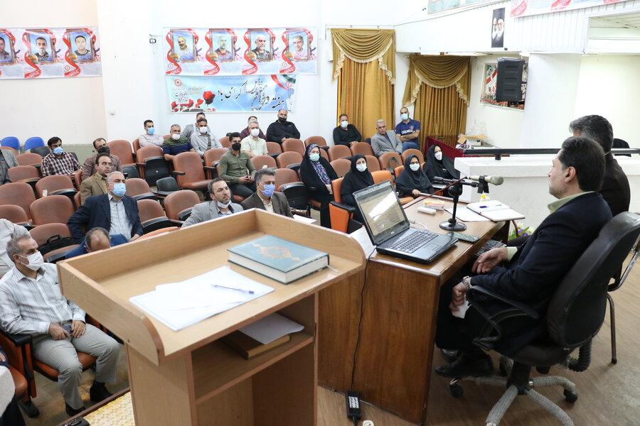 نشست هم اندیشی مدیرکل بهزیستی گیلان با مراکز اقامتی میان مدت استان