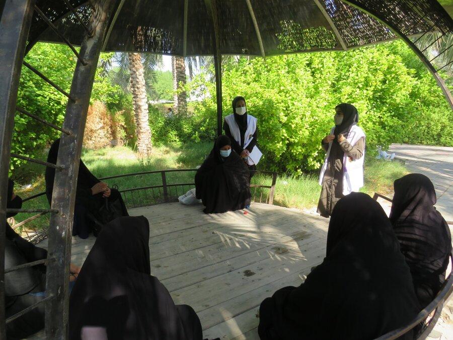 تنگستان اورژانس اجتماعی تنگستان در روزجهانی بدون خشونت کارگاه مدیریت خشم برگزار کرد