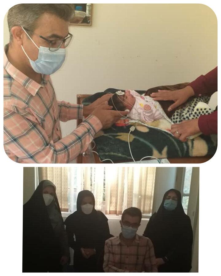 غربالگری شنوایی ۱۵۰۰ نوزاد در ۶ ماهه اول سال جاری در بهزیستی شهرستان ساوجبلاغ