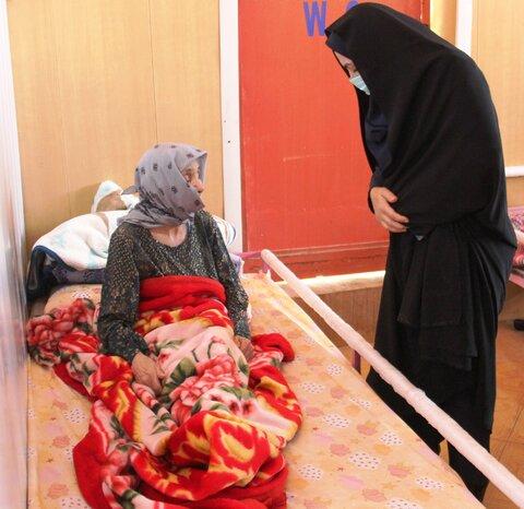 گزارش تصویری| بازدید مدیر کل بهزیستی ایلام از سرای سالمندان آرامش