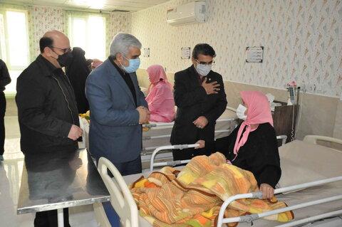 بازدید مدیران بهزیستی و دادستانی مشهد از خانه سالمندان ایثار