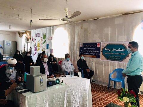 مراسم اختتامیه طرح مشارکت اجتماعی نوجوانان شهرستان دیر برگزار شد