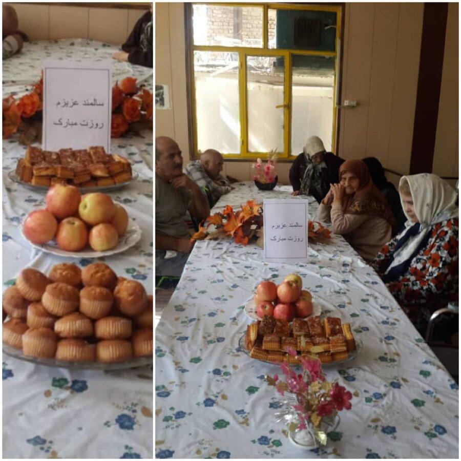 نظرآباد| جشن هفته تکریم مقام سالمندان در نظرآباد برگزار شد