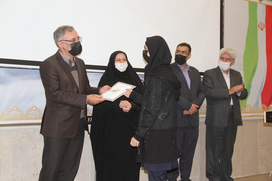 برگزاری مراسم اختتامیه طرح مشارکت اجتماعی نوجوانان ایران (مانا) در شهرستان اردبیل