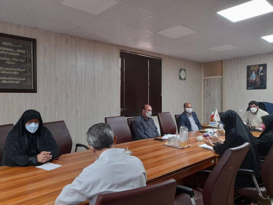 شهریار| برگزاری جلسه هم اندیشی چالش های مراکز مثبت زندگی
