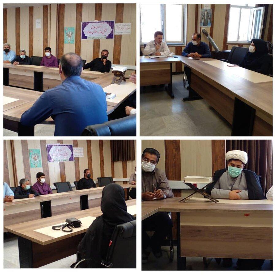 اسدآباد | برگزاری جلسه شورای امر به معروف و نهی از منکر