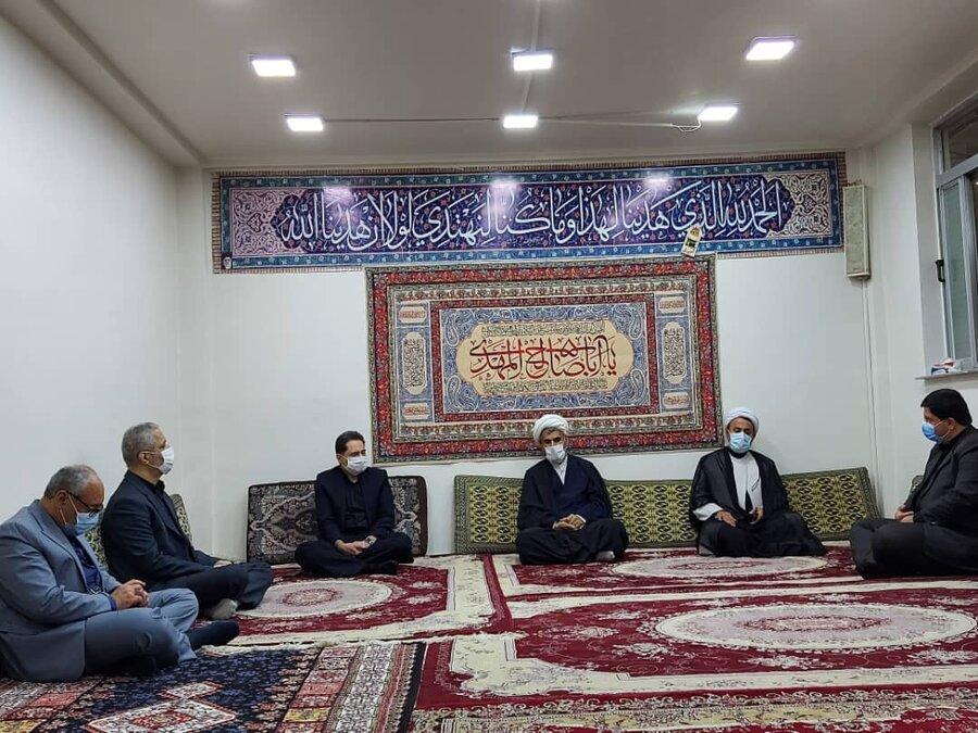 دیدار مدیر کل بهزیستی گیلان با امام جمعه شهرستان سیاهکل