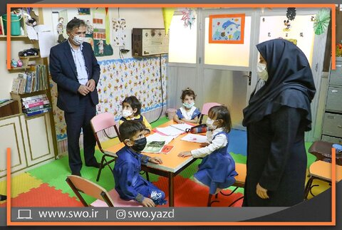 بازدید از مراکز توانبخشی آموزش خانواده و کودک کم شنوا | + گزارش تصویری