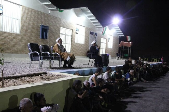 مرکز نگهداری و کاهش آسیب معتادین متجاهر سوگوار رحلت پیامبر اکرم(ص)