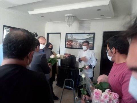 گزارش تصویری   تکریم مقام سالمندان با حضور مسئولین شهرستان ساوجبلاغ
