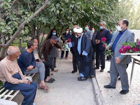 گزارش تصویری/ بازدید از مرکز سالمندان سروهای سراب