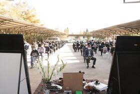 مراسم بزرگداشت یاد و خاطره همکار از دست رفته بهزیستی کرمان