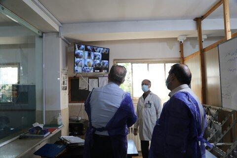 بازدید مدیر کل بهزیستی مازندران از مرکز فروردین ساری