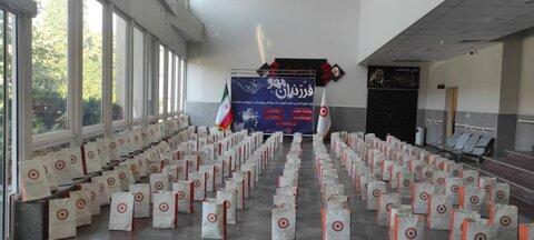 اهداء لوازم تحریر به ۹۰ درصد دانش آموزان بهزیستی گلستان