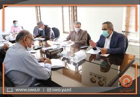 دیدار مدیرکل بهزیستی استان یزد با رئیس جدید شورای اسلامی شهر