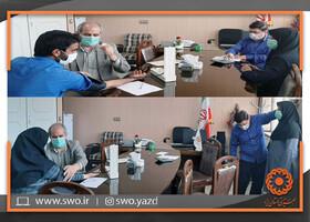 بهاباد | سنجش سلامت کارکنان اداره بهزیستی شهرستان بهاباد