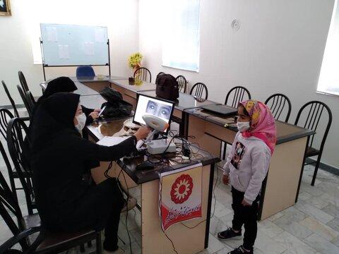گزارش تصویری/ انجام غربالگری بینایی کودکان در شهرستان کلیبر