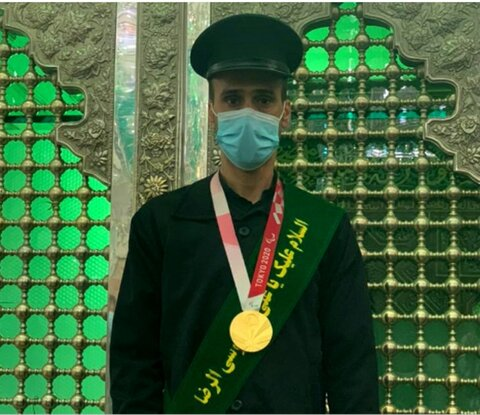 در رسانه   مدال آور پارالمپیک به افتخار خادمی امامزاده حسین(ع) نائل آمد