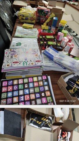 آمل׀توزیع بیش از 500 بسته لوازم التحریر به جامعه هدف بهزیستی در شهرستان آمل