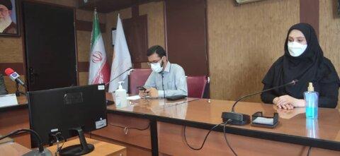 نشست خبری معاون توانبخشی بهزیستی استان تهران به مناسبت روز جهانی عصای سفید