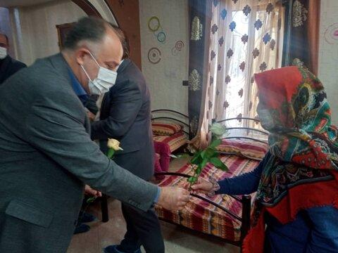 گزارش تصویری | ساوجبلاغ | تکریم مقام سالمندان در هفته گرامیداشت سالمند