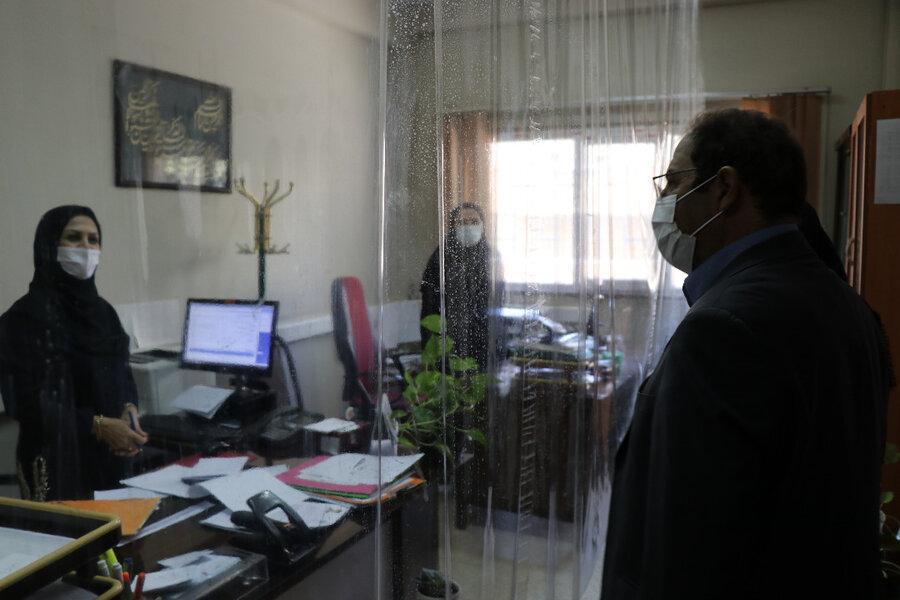 بازدید مدیرکل بهزیستی آذربایجان غربی از مجتمع خدمات مشاوره بهزیستی شهرستان ارومیه
