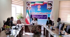 جلسه هم اندیشی مدیران کل بهزیستی، مدیر کل زندانها و هلال احمر استان برگزار شد