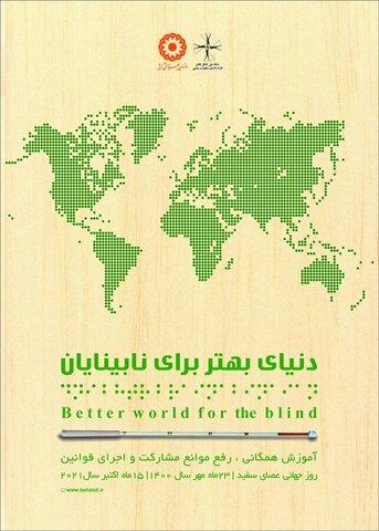 ۲۶۲۷ نابینا تحت پوشش خدمات بهزیستی استان قم هستند
