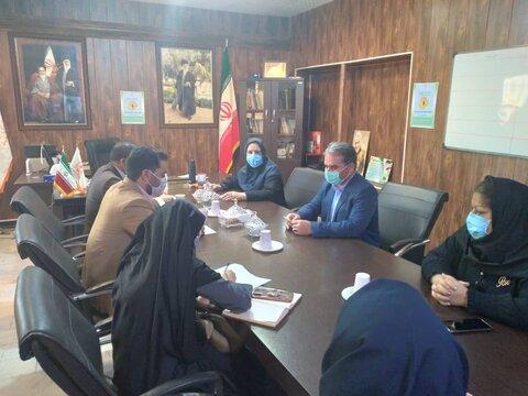اشتهارد | برگزاری جلسه هماهنگی هفته بزرگداشت سلامت اجتماعی